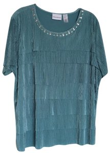 Alfred Dunner Top Sea green
