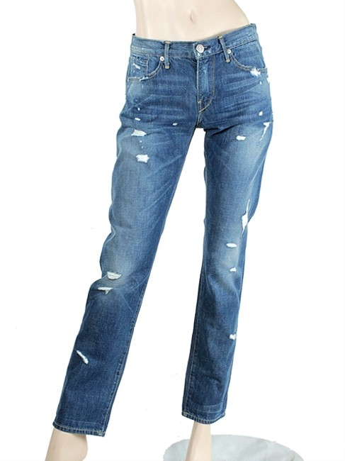3 x1 Jeans Denim Distressed Boyfriend Cut Jeans-Distressed
