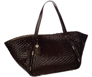 Juicy Couture Woven Tote in T MORO