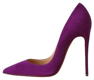 Christian Louboutin So Kate 120 Bougainvillier Purple Pumps