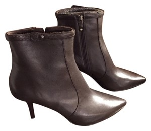 Via Spiga Leather Chocolate Brown Boots