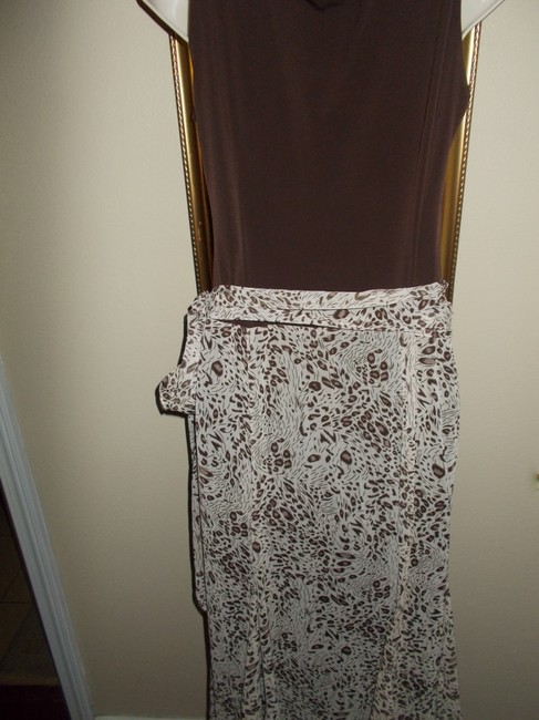 Brown Maxi Dress by Traces