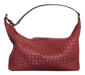 Bottega Veneta Nappa Leather Medium Iron Shoulder Bag