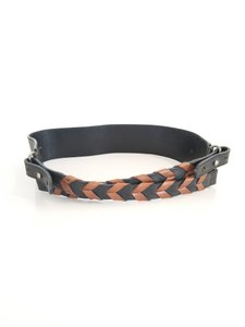 Gucci Braided Criss-Cross Leather