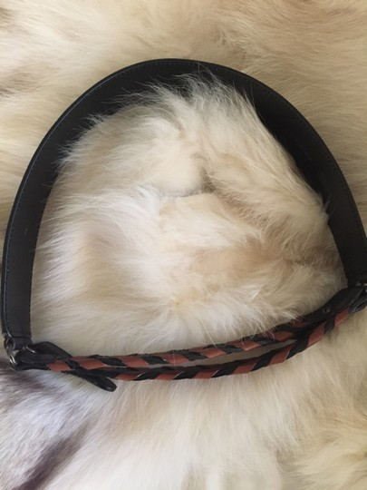 Gucci Braided Criss-Cross Leather Image 6