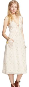 Free People short dress Ivory Combo on Tradesy