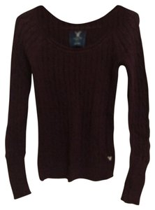 American Eagle Outfitters Wine Sweater