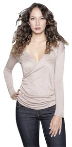 Raven + Lily Wrap + Made In Usa Top Grey
