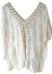 Free People Lace Cover Up Tunic