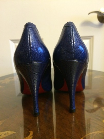Sergio Zelcer Royal Blue Pumps