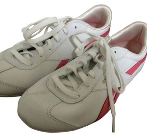 Reebok Pink Sneakers New White Athletic