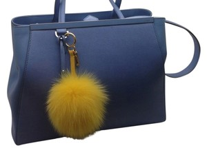 Fendi Satchel in Ocean Blue / Cobalt