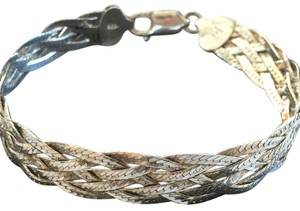 Other Sterling Silver Braided Bracelet (7