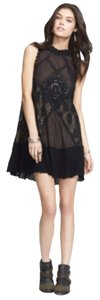 Free People short dress Blac on Tradesy