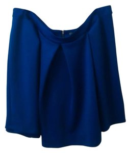 Forever 21 Plus Size Cobolt Mini Skirt Cobalt Blue