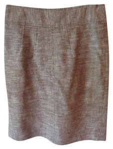 Banana Republic Tweed Pencil Skirt Brown
