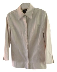 Express Blazer Snap Buttons Button Down Shirt Light tan