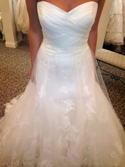 Pronovias Off-white Pergola Formal Wedding Dress Size 14 (L)