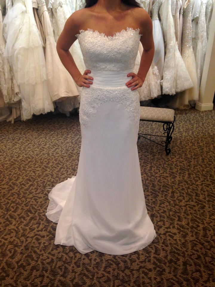 Pronovias lambina wedding dress on sale 53 off wedding for Best way to sell used wedding dress