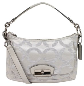 Coach Kristin Metallic Signature C Cross Body Bag