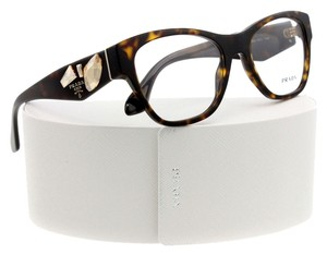 Prada Women's Dark Tortoise Optical Frame New with Crystals