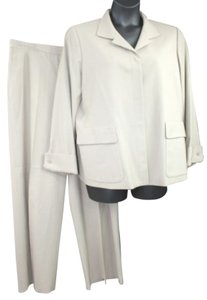 Ellen Tracy LINDA ALLARD ELLEN TRACY 2-PC. WOOL BLEND PANT SUIT 14 16