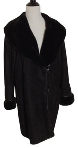 Sibylle Lyn Shearling Suede Warm Fur Coat
