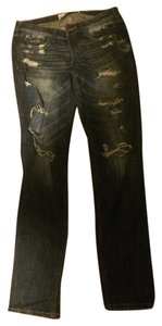Hollister Straight Leg Jeans-Dark Rinse