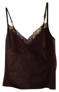 GAP Cami Top Lacy silky brown