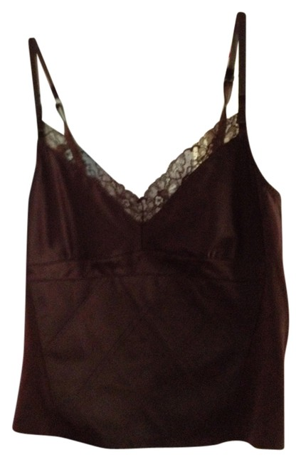 Gap Top Lacy silky brown