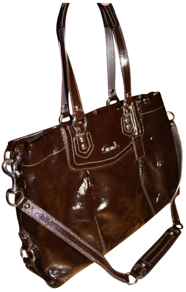 Coach Ashley Carryall Patent Leather Patent Leather Shoulder Bag Image 0 ... 581bce4136c14