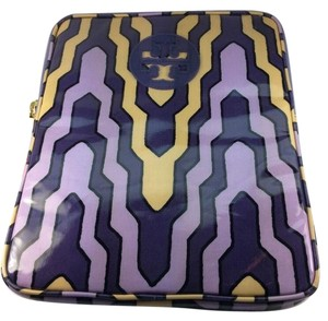 Tory Burch New with Tags Tory Burch IPad E Tablet Case Sleeve Purple Yellow Black