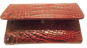 Other NEW NO TAGS DESIGNER INSPIRED CHECKBOOK WALLET RED BLACK
