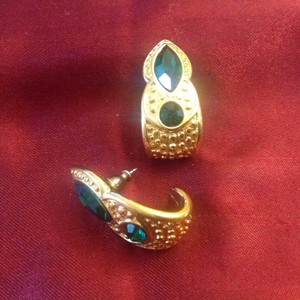 Napier Rhinestone earrings