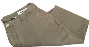 Bonobos Chino Washed Chino Straight Pants Army Green