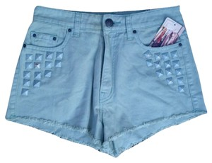 Urban Outfitters Cut Off Shorts Mint Green