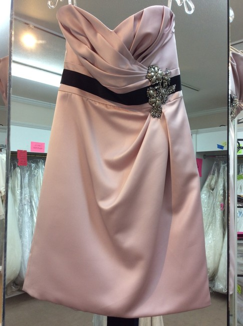Item - Blush Satin Love By A15 Formal Bridesmaid/Mob Dress Size 10 (M)