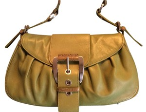 Adrienne Vittadini Satchel in Fresh Green Leather