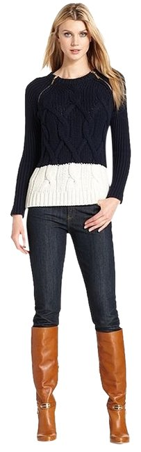 Preload https://item1.tradesy.com/images/michael-kors-see-commission-notecolorblockedchunkycable-knit-sweaterpullover-size-2-xs-1079810-0-0.jpg?width=400&height=650