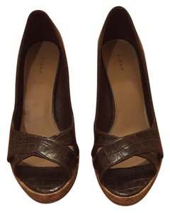 Fioni Brown Platforms