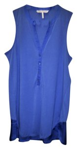 UK French Connection Sleeveless Top Blue