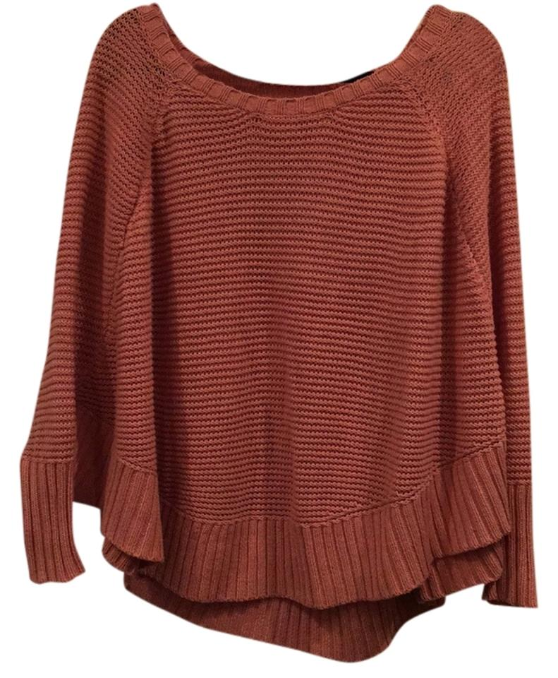 337adcd712 LC Lauren Conrad Poncho Light Pink Sweater - Tradesy