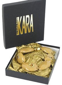 Kara Ross Kara by Kara Ross Jewelry - Mocha Resin and Tigers Eye Necklace