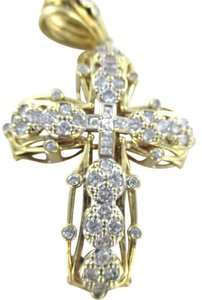 10kt SOLID YELLOW Gold CROSS Pendant for Sale!!!