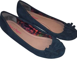 Pink & Pepper Dark teal Flats