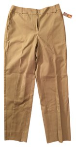 Talbots Capri/Cropped Pants Khaki Light Green