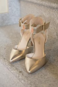 Nine West Ankle Strap Wedding Shoes