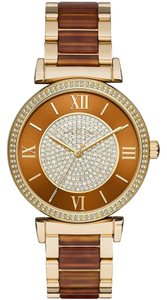 Michael Kors NWT Michael Kors Women's Catlin Stainless Steel Bracelet Strap Watch MK3411