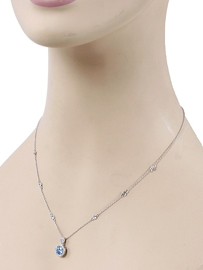 Myia Passiello Myia Passiello Jewelry - Sterling Silver CZ Necklace Earring Set