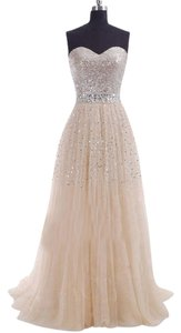 Sweetheart Girl Sequined Dress